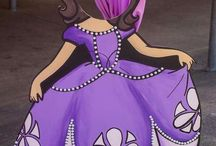 sofia the first photo booth