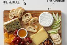 Food: Cheese Board