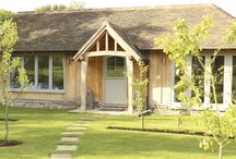 Annexes / Oak framed Annexes that sit beautifully quaint in peaceful gardens. Great for relatives that want to be close by but still have their own space.