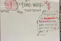 Tuesday Whiteboard Messages