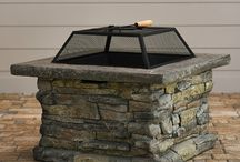Outdoor patio / by Jenna Dee
