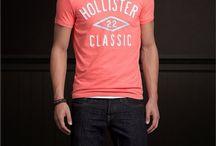 HOLLISTER Masculino / Hollister Company, também conhecida como Hollister ou HCO. É uma marca de roupas norte-americana, classificada como a segunda marca de roupa mais preferida dos adolescentes e jovens americanos.