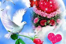 szerető szív küldi