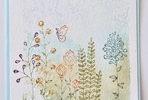 Flowering Fields- Stampin' Up