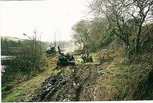 UK Steam dredging scenes