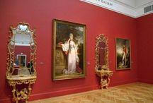 Musem gallery walls