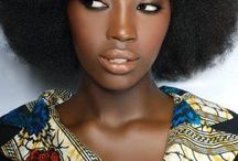 Dark beauties & afro