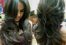 Layer hair cut / by Edna Santos