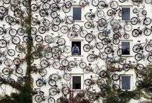 Cool Cycling Pics / Some of our fave, & fun, cycling images from around the world. Cyclehoop is a firm of award-winning designers and architects specialising in producing innovative indoor and outdoor cycle parking infrastructure. http://www.cyclehoop.com/
