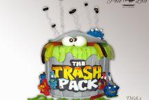 Torta za decu Đubrište - The Trash Pack / www.pocoloco.rs