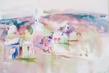 Art aquarelle Lawrence Goldsmith