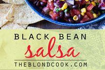 salsa black beans