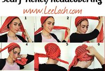 wear this:: ::head scarves / by Kathleen Clay