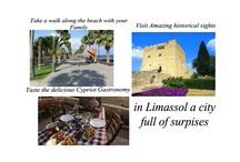Make Limassol your Favourite Vacation Destination! / Make Limassol your Favourite Vacation Destination!