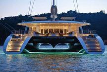 Luxus yachtok