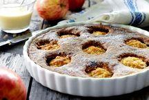 æblekage med kokos