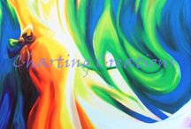 Abstract / Abstract artwork available as cross stitch charts