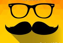 Mooch Nahi Toh Kuch Nahi / The identity of a man is the moustache he sports. Many styles for many personalities. You have one for every kind of man.  #MoochNahiTohKuchNahi #MoochTalks #Moochify #Moustache #ManishCreations