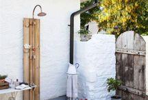 kültéri, szabadtéri zuhanyzók - outdoor shower
