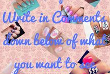 Nail Designs / From simple to extremely complicated their is something for absolutely everyone. For posts about say a season or colour or anything comment on the first picture. Every week I will have pin of the week of the hottest nail art design