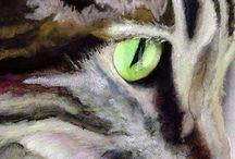 Peintre (Alex Carter) / Chats