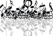 zenés dekoráció