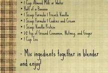 Herbalife / Shake and snacks