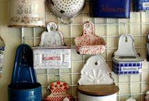 Cocina utensillos vintage