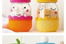 jar cover crocet