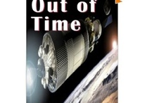 Out of Time: A Time Travel novel / A scientist figures out that time is fluid; past, present, and future all exist at the same time. His mission is to find out if time can be changed. Features the Titanic, Anne Frank, JFK, and various NASA missions