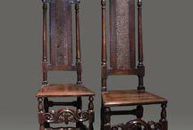 Welch cane back chair, circa,1690