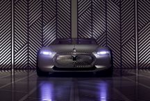 2015 - Coupé C Concept Car / Groupe Renault's industrial design team is celebrating the 50th anniversary of the disappearance of Le Corbusier (1965-2015) by designing and creating a project for a 21st century car inspired by the architect's modernist principles and theories