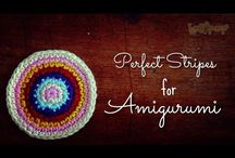 How to perfect stripes for Amigurumi