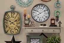 Clocks and prints