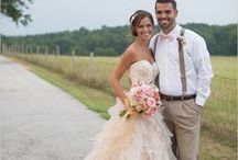 Rustic Wedding Dresses / Wedding dresses with a country flair fit for any sagebrush bride.