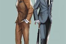 Men illustration