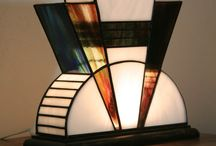 Art Deco lamps