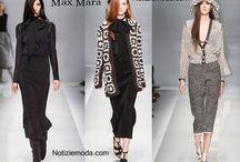 Max Mara / Max Mara collezione e catalogo primavera estate e autunno inverno abiti abbigliamento accessori scarpe borse sfilata donna.