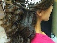 wedding hair do's / by Rebeeca Barksdale