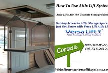 How To Use Attic Lift To Easily Move The Things