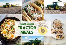 Harvest food