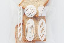 パンの袋 デザイン案