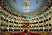 """Teatro La Fenice / Teatro La Fenice is an opera house in Venice, Italy. It is one of the most famous theatres in Europe, the site of many famous operatic premieres. Its name reflects its role in permitting an opera company to """"rise from the ashes"""" despite losing the use of two theatres. Since opening and being named La Fenice, it has burned and been rebuilt twice more."""