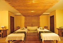 Spa room interior design