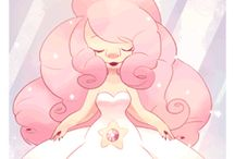 Rose Quartz [and her Lion]