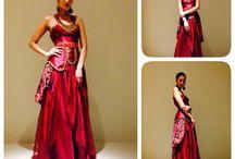 Evening dress / Red