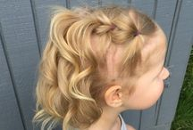 Hairstyle toddler