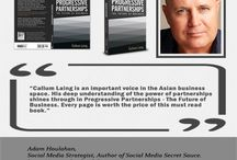 Progressive Partnerships -The Future of Business / I believe that partnerships are the fastest growth strategy that any business can follow. In my book Progressive Partnerships – The Future of business I show you exactly how to create successful partnerships. More importantly I show you how you can attract partnerships to you, so that you don't have to go chasing them. Download a free sample. It is a collection of useful ideas from throughout the book which will hopefully be enough to get you started.