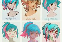 drawing styles