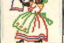 Vintage Embroidery Patterns / by Barbara Montreuil